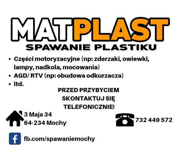 MATPLAST Spawanie plastiku
